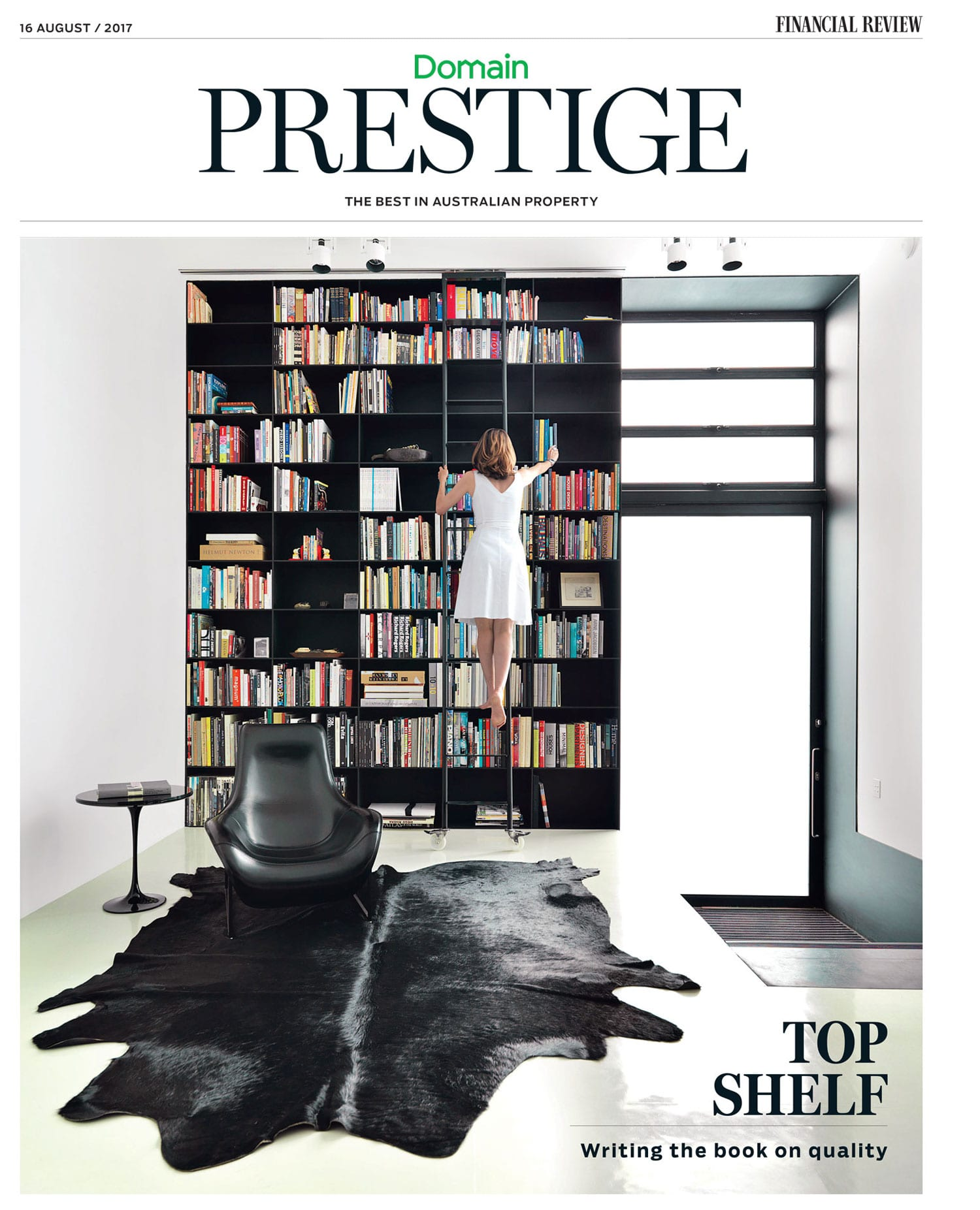 Australian Financial Review Domain Prestige Cover, Monthly Column by Dana Tomic Hughes | Yellowtrace