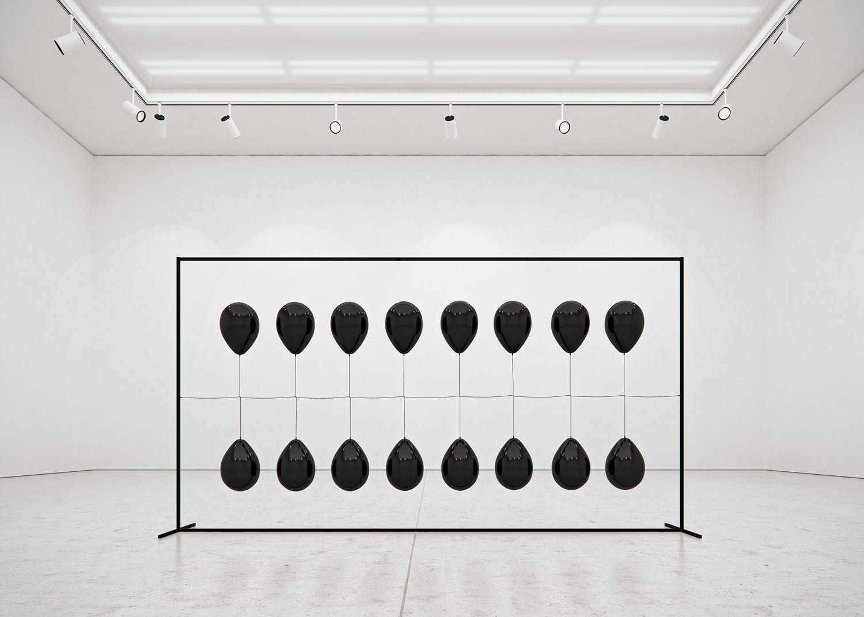 Black Balloons by Tadao Cern | Yellowtrace