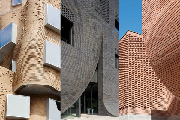 Bricks Decoded: Curved Brick Buildings, Curated by Yellowtrace.