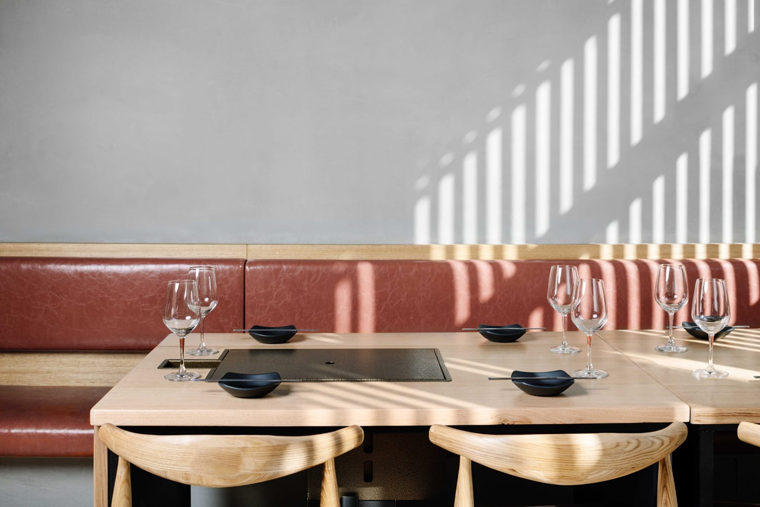 Hinoak Korean Barbecue House In Melbourne By Biasol Yellowtrace