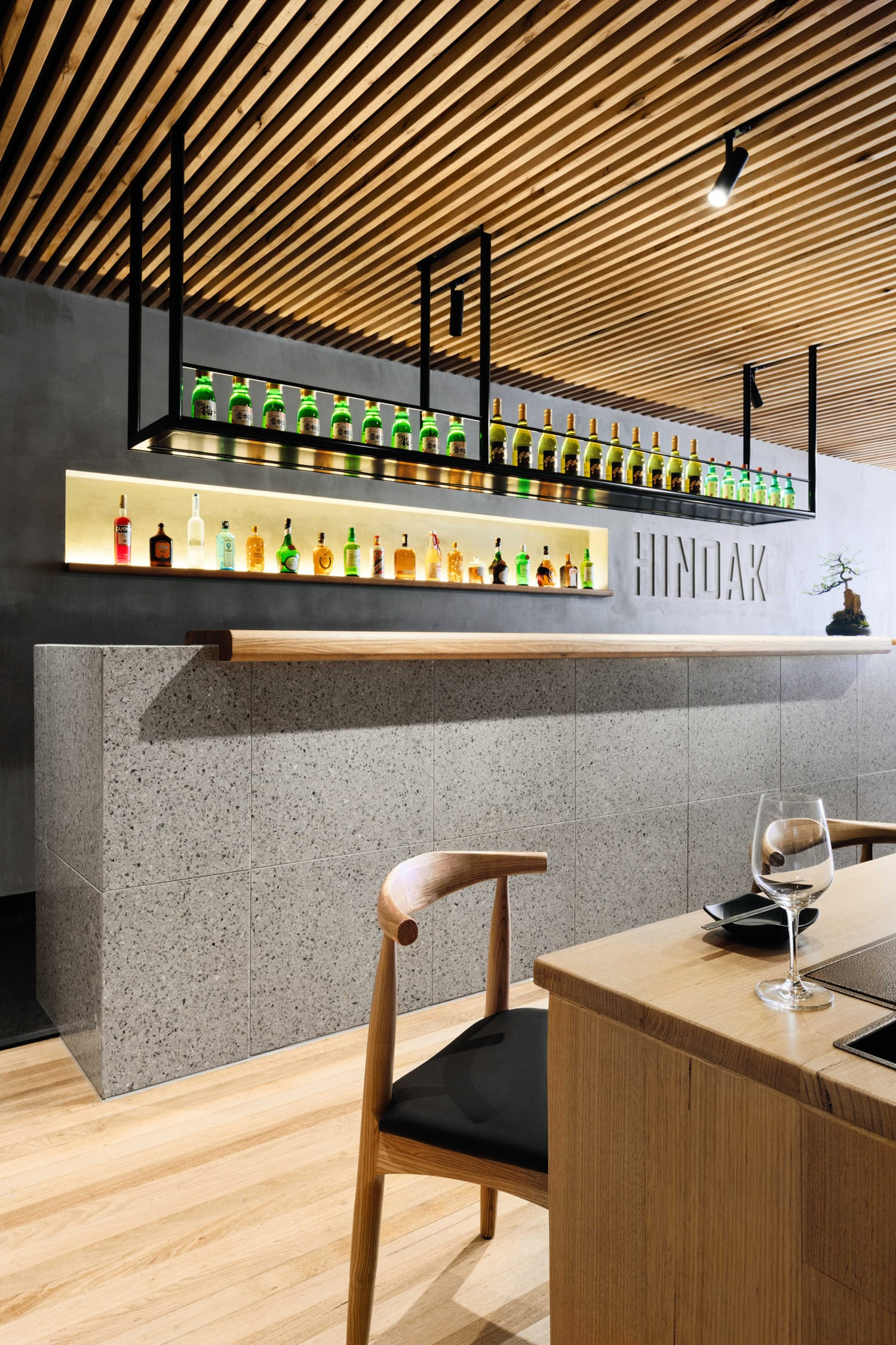 Hinoak korean barbecue house in melbourne by biasol for Housse barbecue