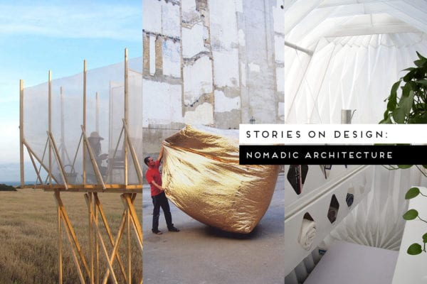 Nomadic Architecture Curated by Yellowtrace