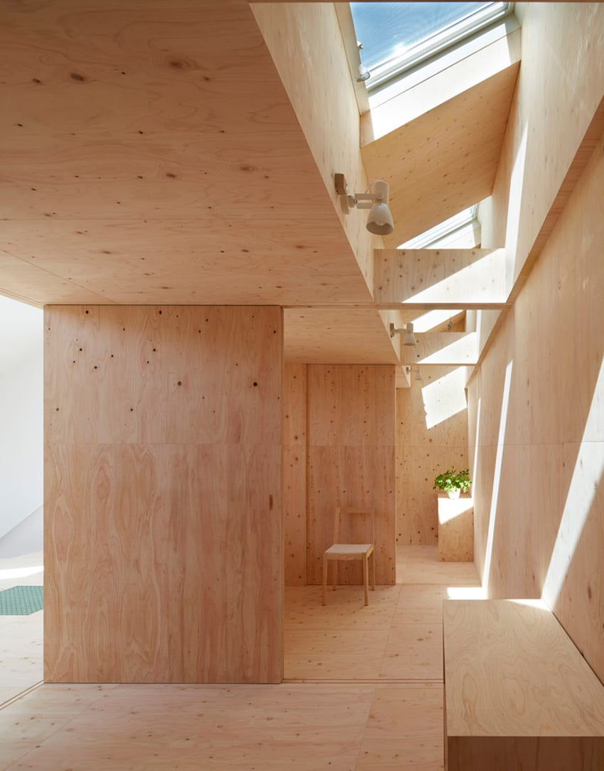 Reslope House by Tomohiro Hata | Yellowrace