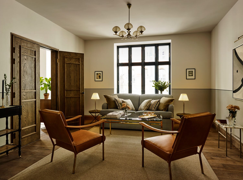 Sanders boutique hotel in copenhagen by lind almond for Boutique hotel design