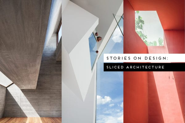 Sliced Architecture Curated by Yellowtrace
