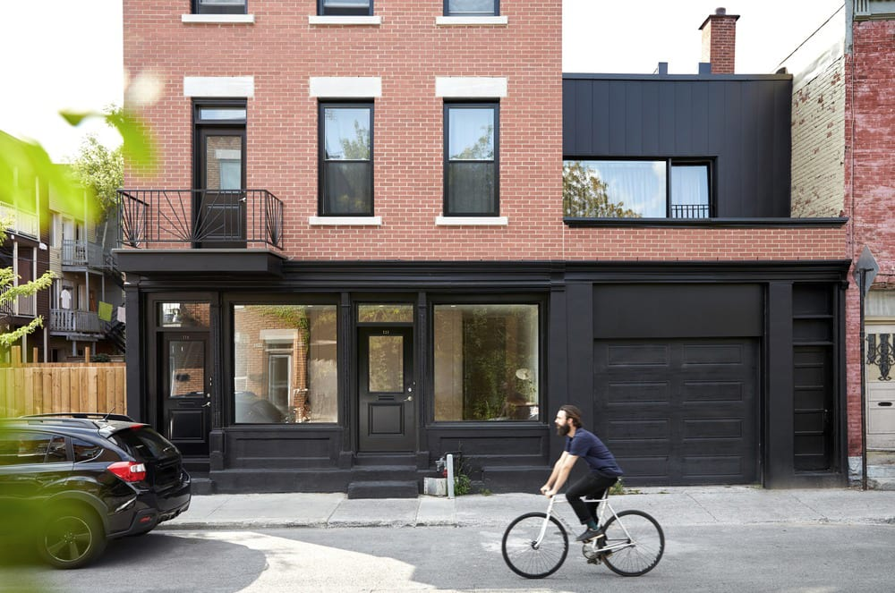 Villeneuve Residence in Montreal, Canada by Atelier Barda architecture | Yellowtrace
