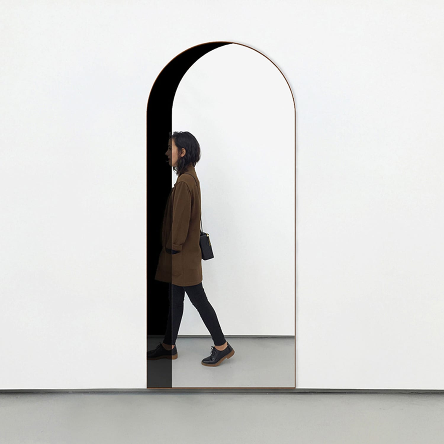 Arch Floor Mirror by Bower | Yellowtrace