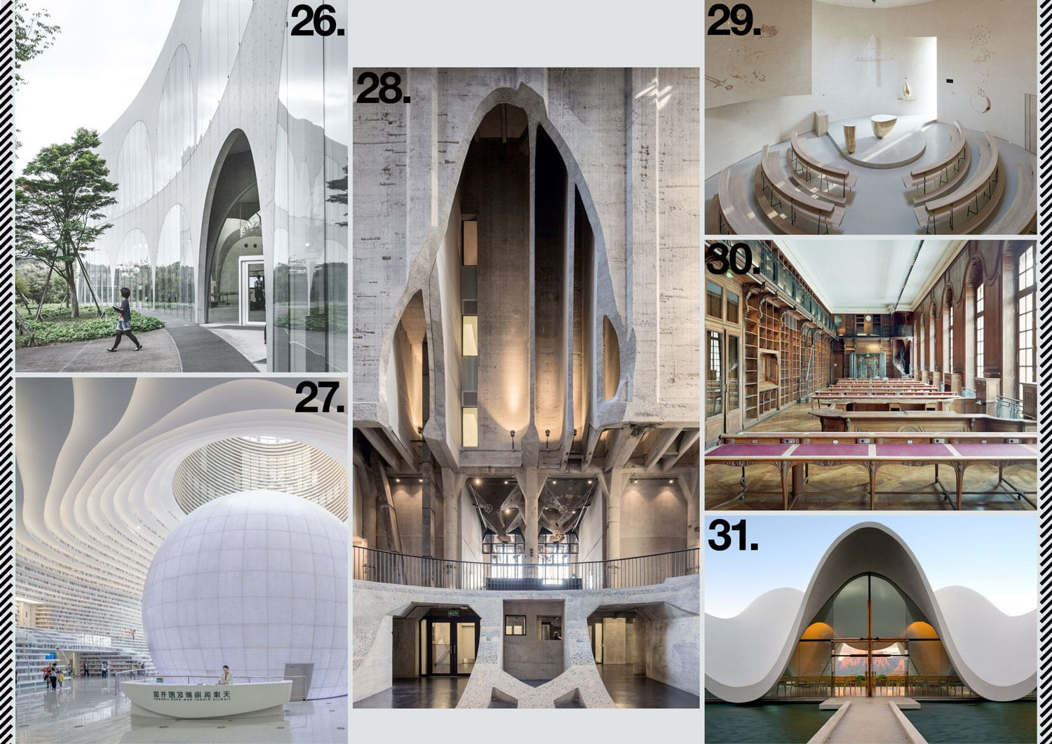 Commercial Architecture, Cultural & Education Buildings 2017 Archive | Yellowtrace