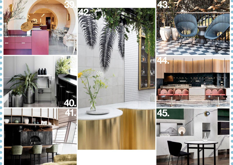 Australian architecture interiors yellowtrace 2017 for Piccolino hotel decor