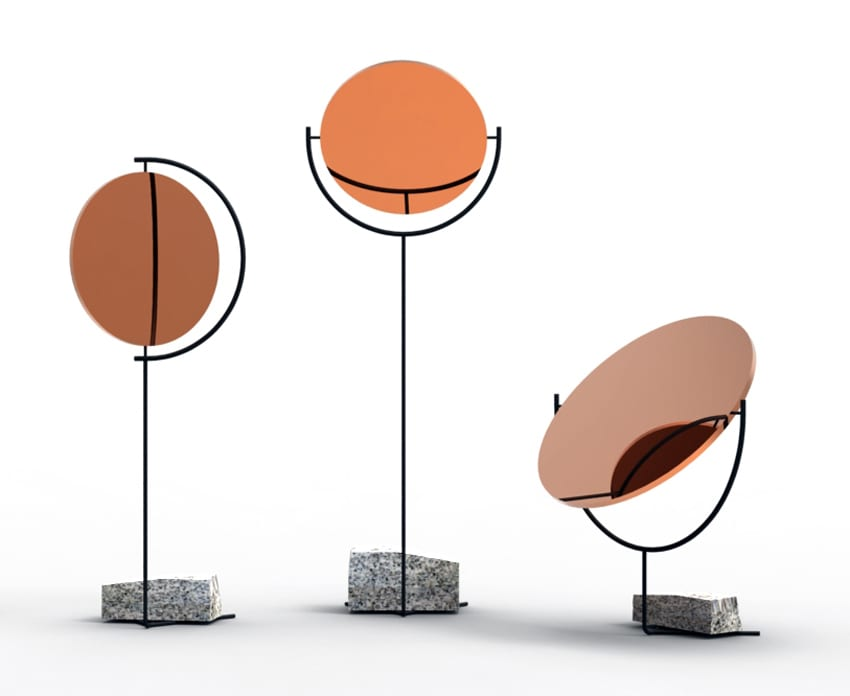 Copper Mirror Series by Hunting & Narud | Yellowtrace
