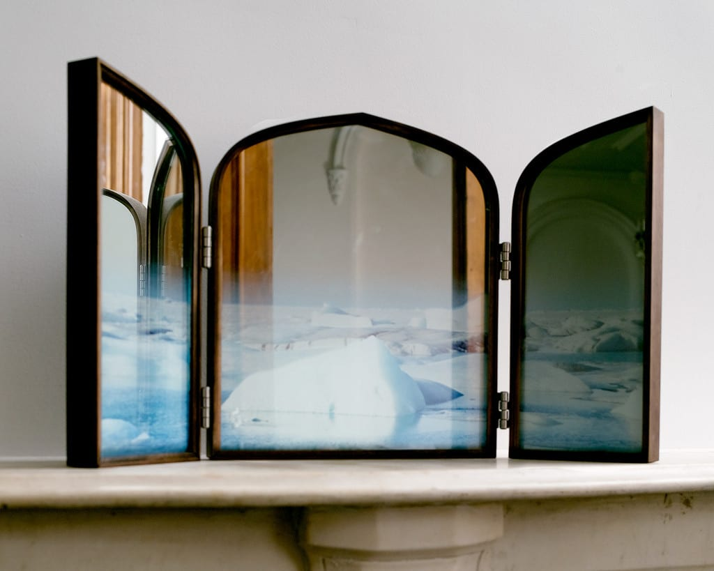 Daydreams Iceland Triptych Mirror by Jason Miller | Yellowtrace