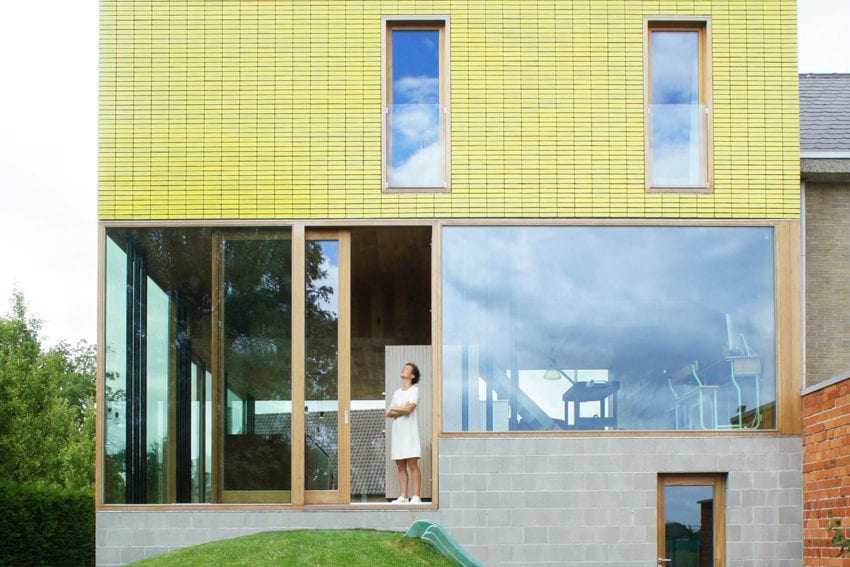 House For a Young Family in Haaltert, Belgium by Atelier Vens Vanbelle | Yellowtrace