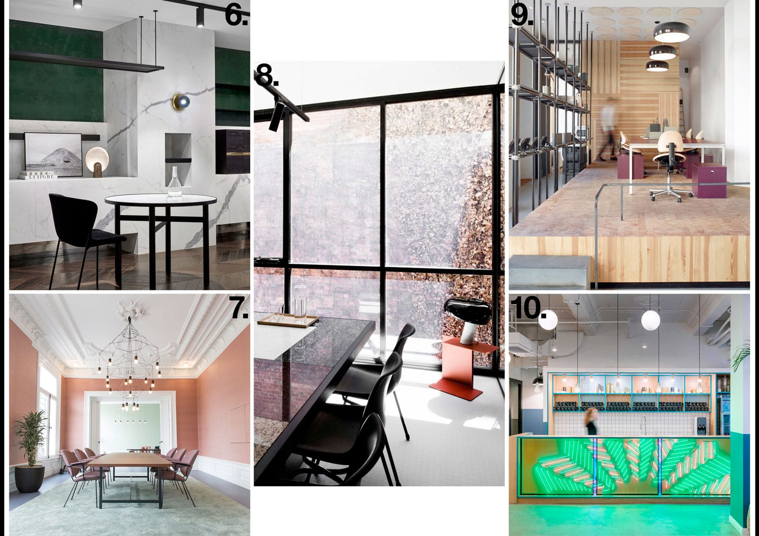 Workplace Interiors Archive 2017 | Yellowtrace