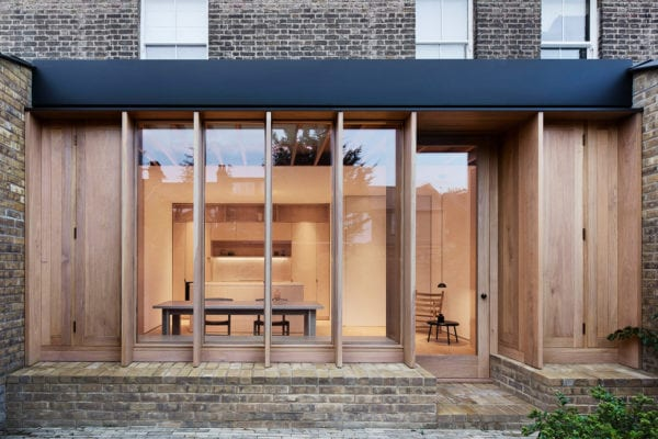 O'Sullivan Skoufoglou Architects' Extension to a 1970s London House | Yellowtrace