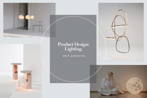 Product Design: Lighting Archive 2017 | Yellowtrace