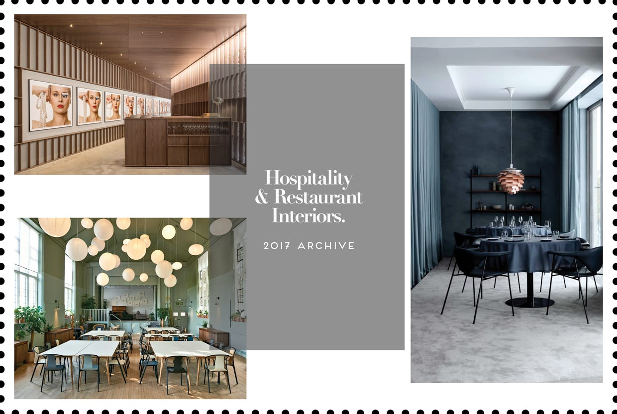 Hospitality & Restaurant Interiors 2017 Archive | Yellowtrace