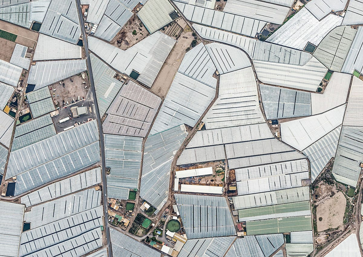 Aerial Photographs of Mar del Plastico by Bernhard Lang | Yellowtrace