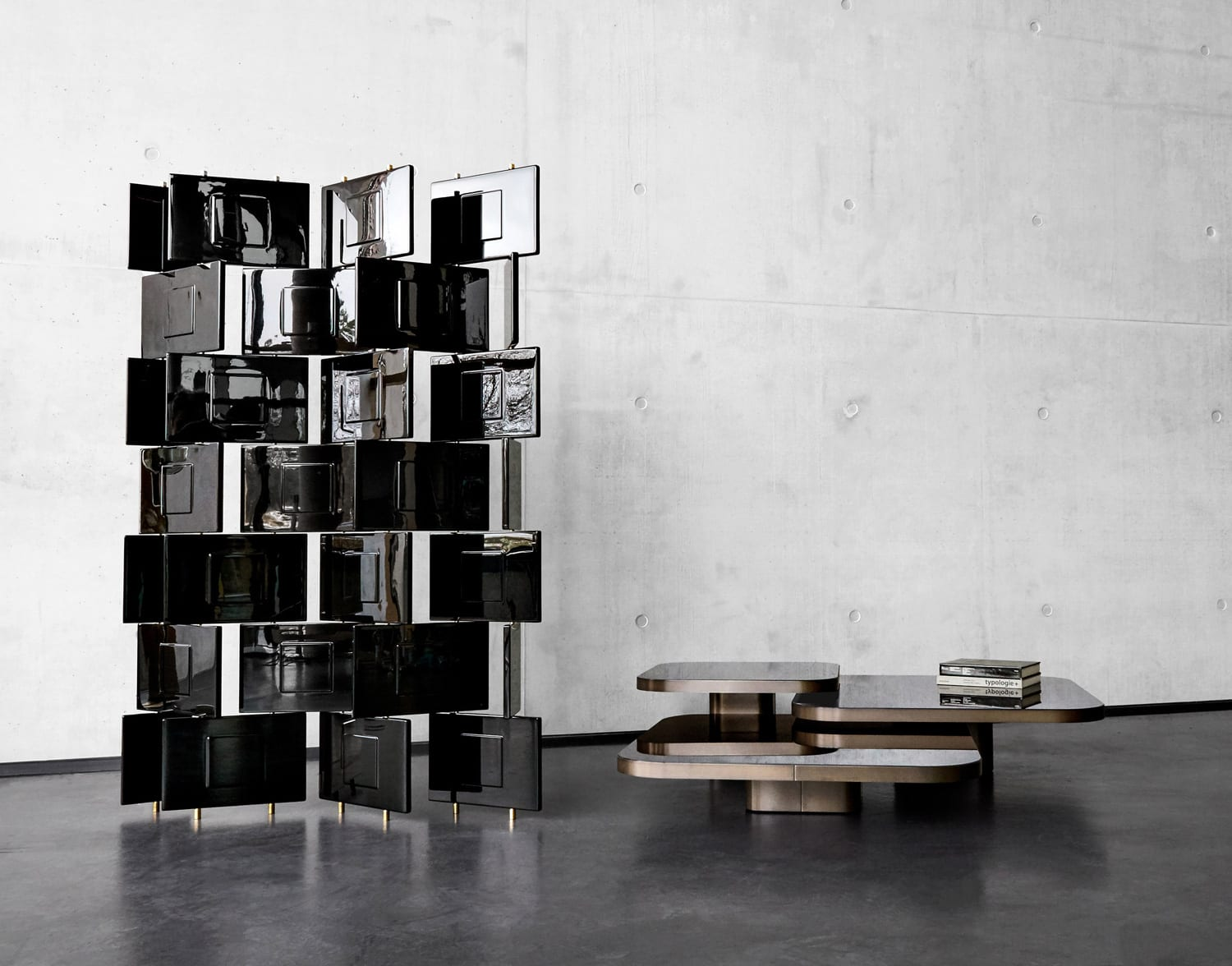 Bow Coffee Table by Guilherme Torres for ClassiCon at IMM Cologne 2018 | Yellowtrace