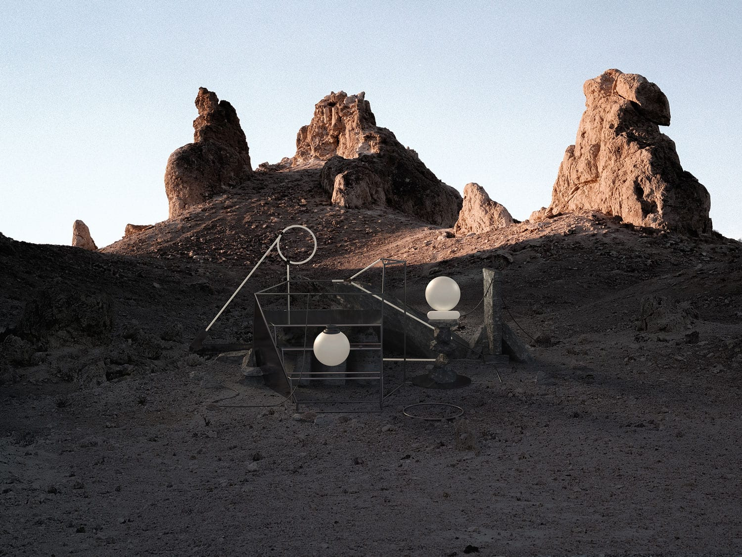 Co-Existe: Exploration of Digital vs Natural Materials & Environments | Yellowtrace