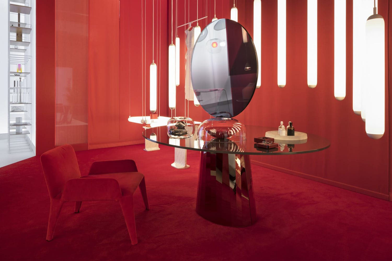 Das Haus by Lucie Koldova at IMM Cologne 2018 | Yellowtrace