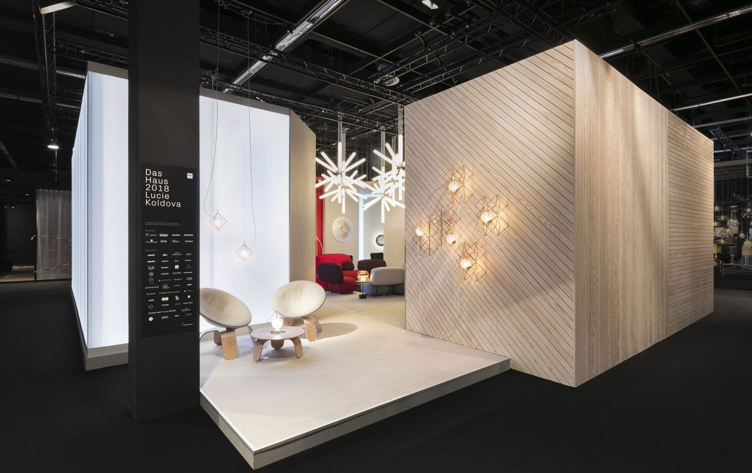 Das Haus by Lucie Koldova at IMM Cologne 2018   Yellowtrace
