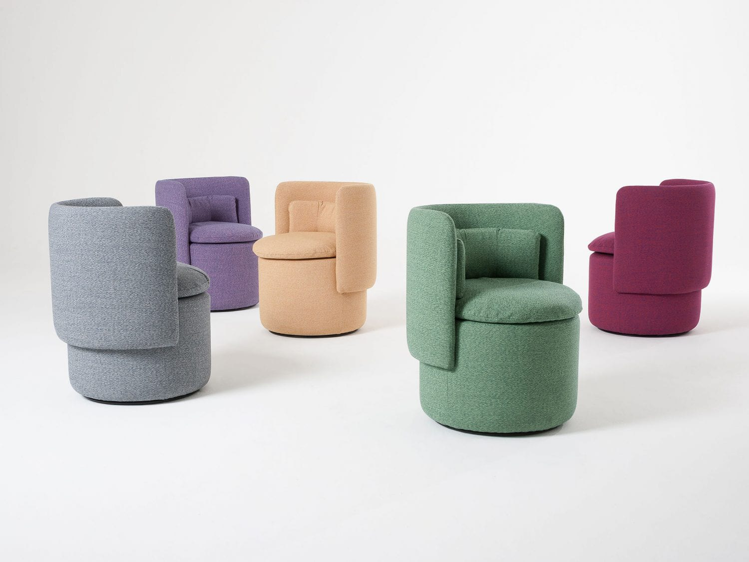 Group Armchair by Philippe Malouin for SCP at Maison & Objet 2018