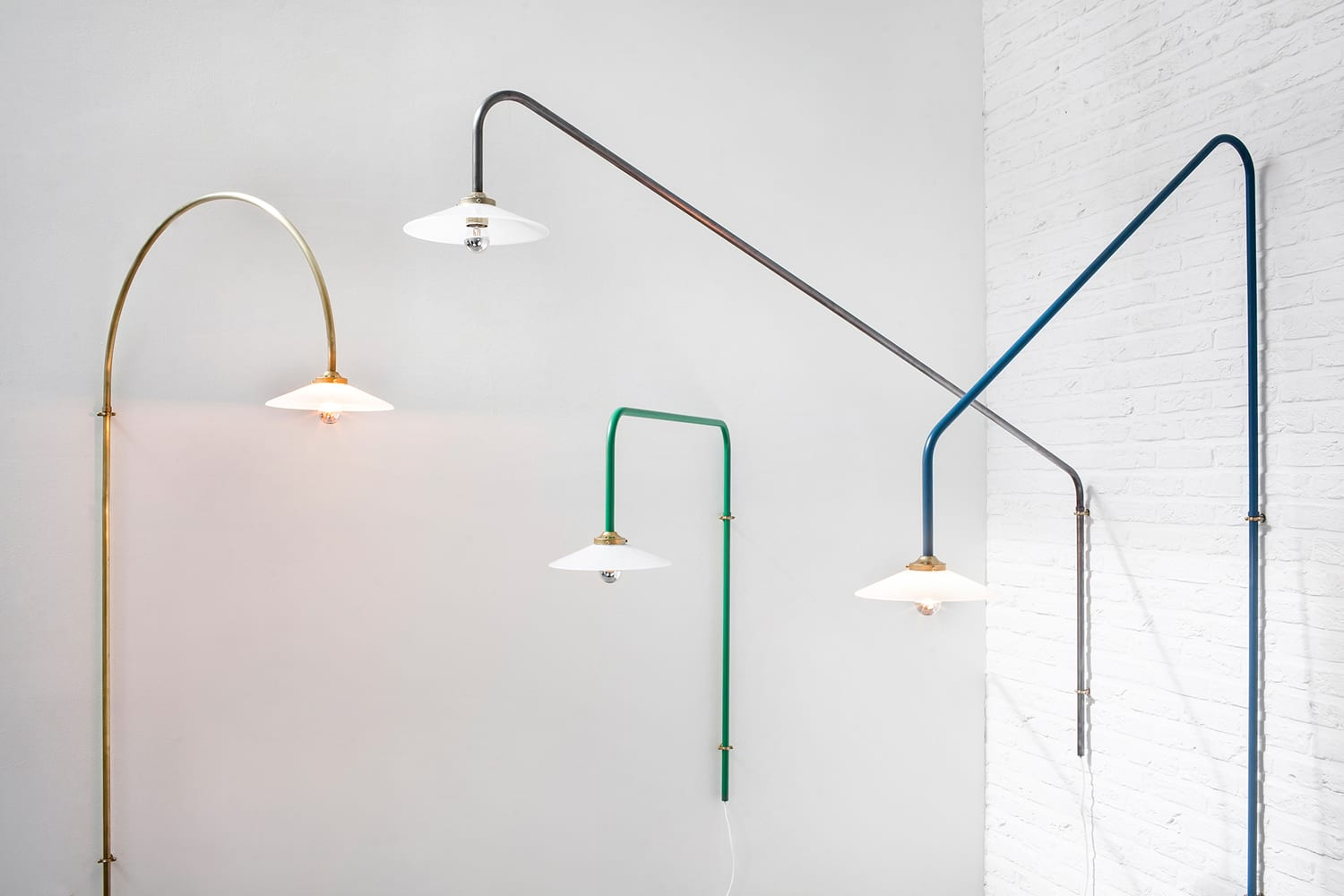 Hanging Lamps by Muller Van Severen for Valerie Objects at IMM Cologne 2018 | Yellowtrace