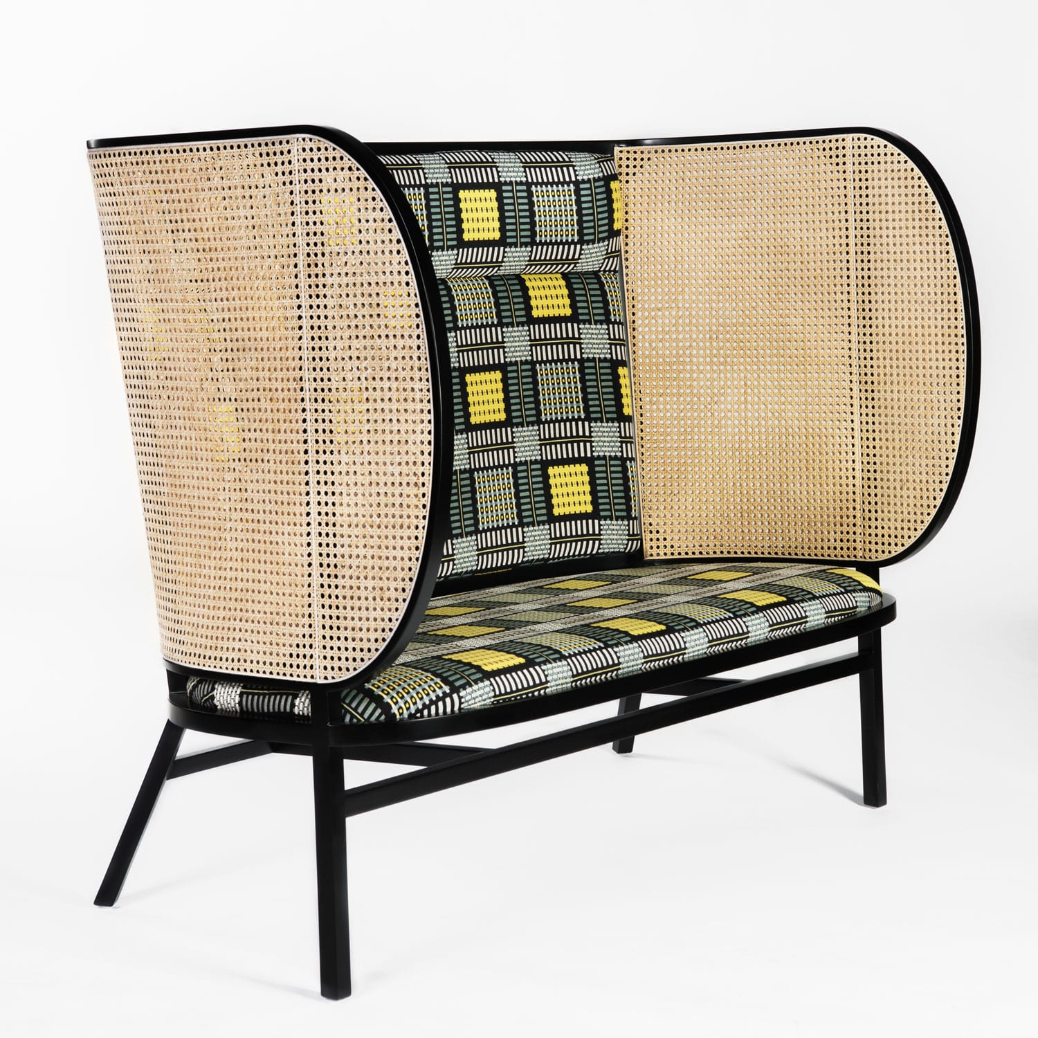 Hideout Loveseat by Gebruder Thonet Vienna GmbH at Maison & Objet 2018 | Yellowtrace