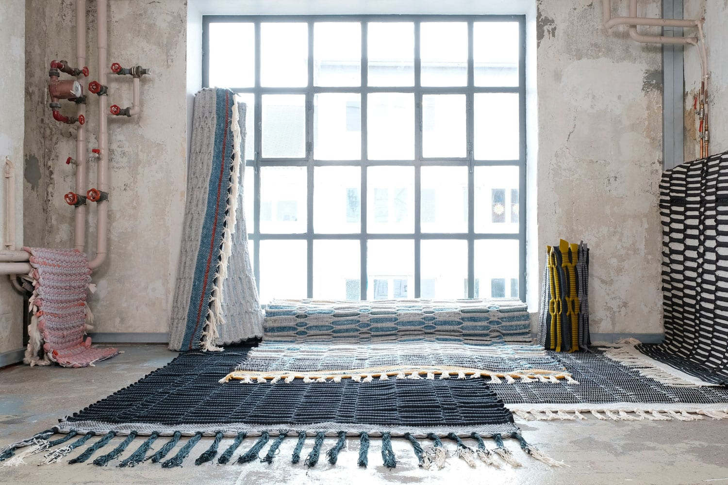 Honeycomb Carpets by Sophia Buhne Pure Talents Contest, IMM Cologne 2018 | Yellowtrace