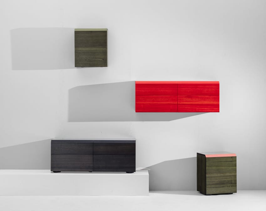 Kiri Cabinets by Stefan Diez for MEETEE at IMM Cologne 2018 | Yellowtrace