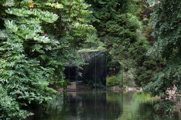 Liquid Pavilion by DepA for The Serralves Museum of Contemporary Art Porto Portugal   Yellowtrace