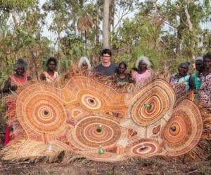 PET Lamps by Alvaro Catalán de Ocón & Indigenous Australian Artist Weavers in Ramingining   Yellowtrace