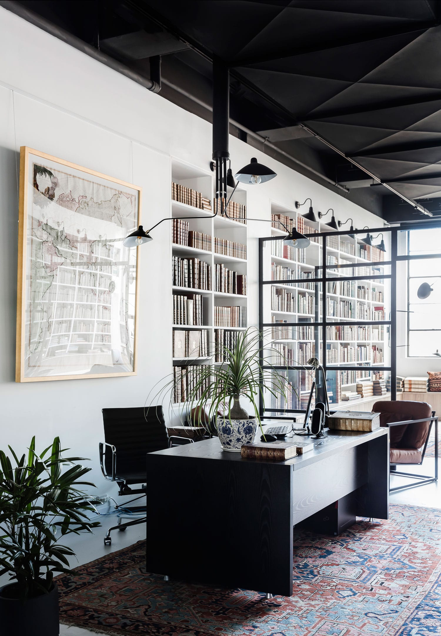 Rare Bookseller's Office Space in Surry Hills by Busatti Studio   Yellowtrace