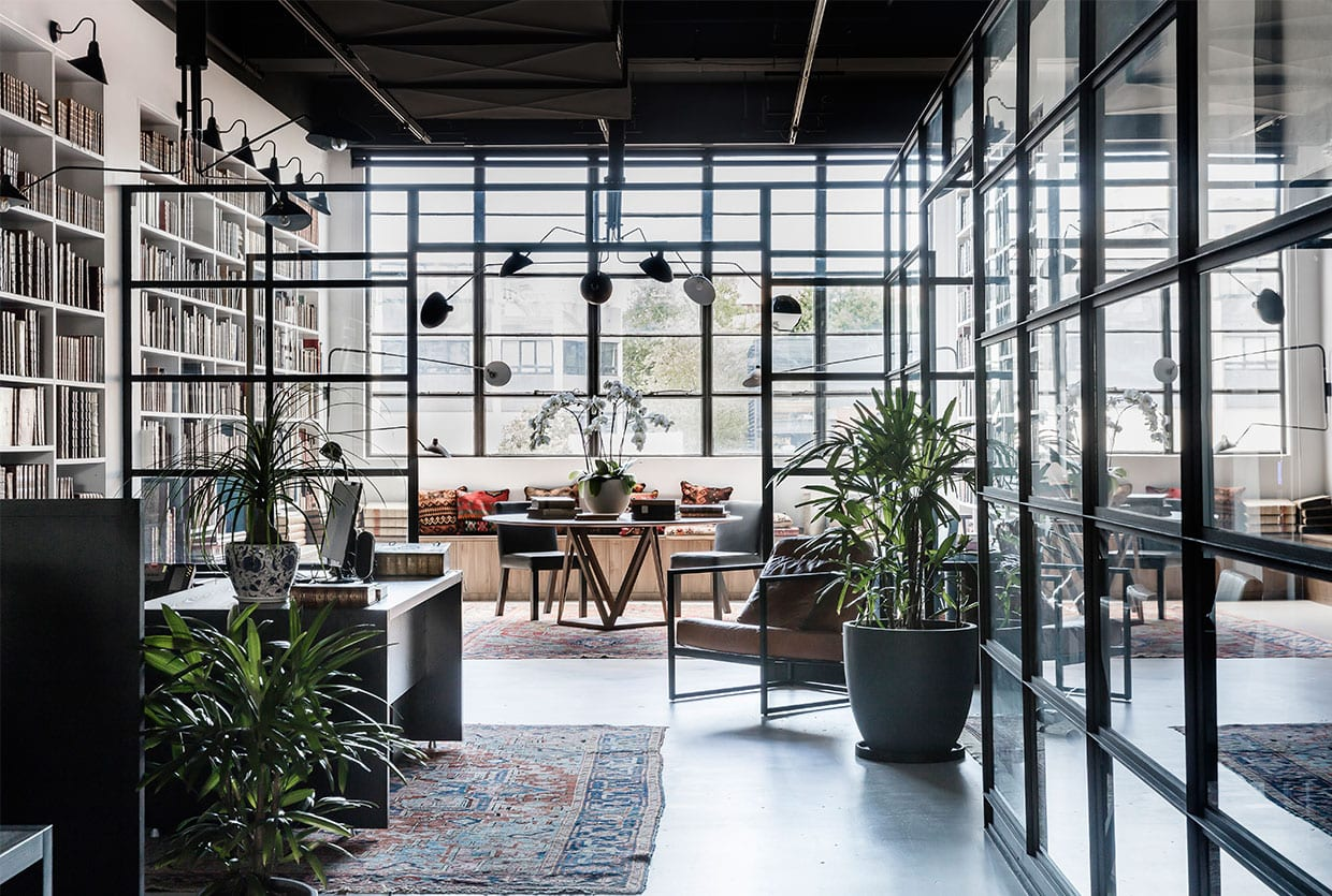 Rare bookseller 39 s office space in surry hills by busatti studio - Small spaces surry hills decor ...
