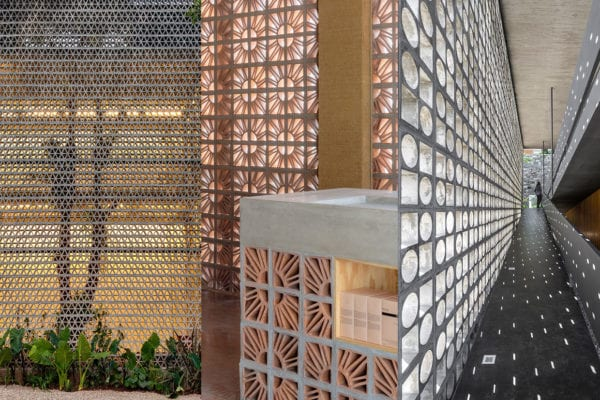 Return of Breezeblock Architecture Trend, Curated by Yellowtrace