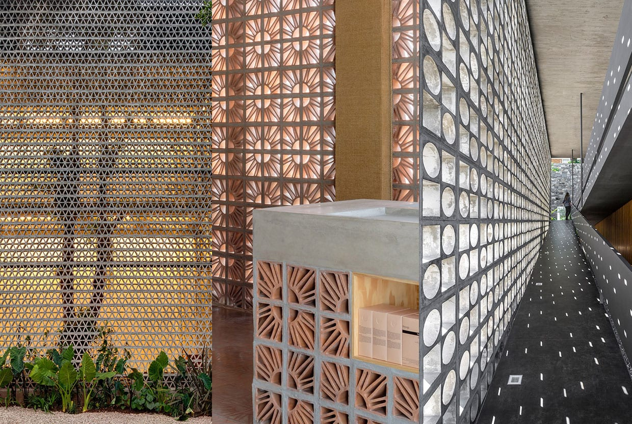 Return of Breeze Block Architecture Trend, Curated by Yellowtrace