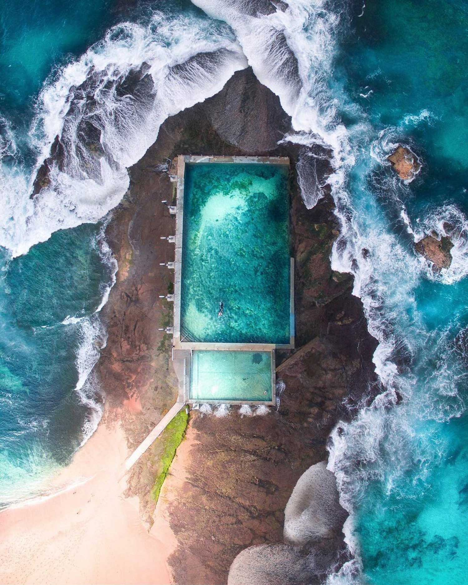 Rock Pool in Mona Vale, Sydney by Gab Scanu | Yellowtrace