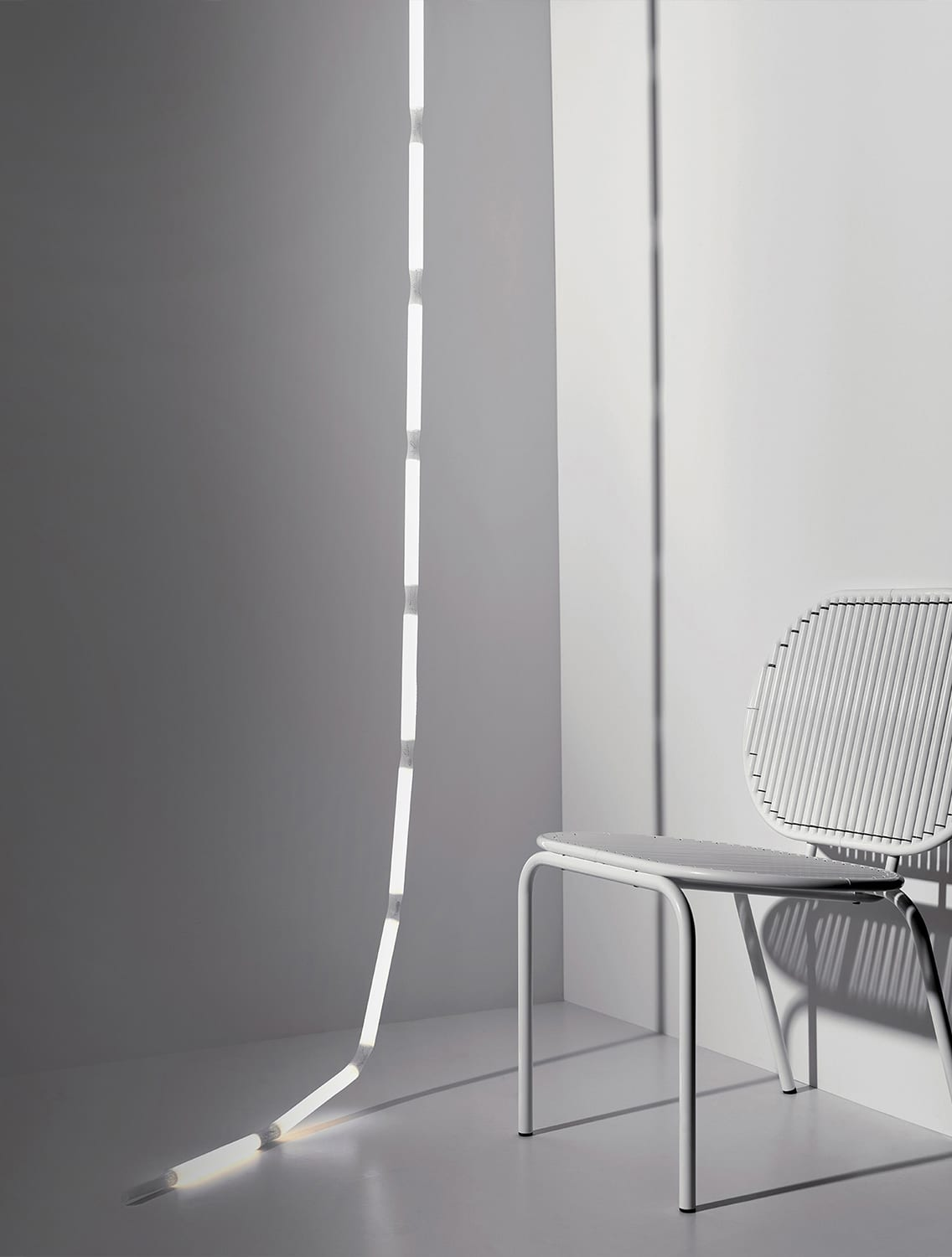 Rope Light by Verena Henning for AKTTEM at IMM Cologne 2018 | Yellowtrace
