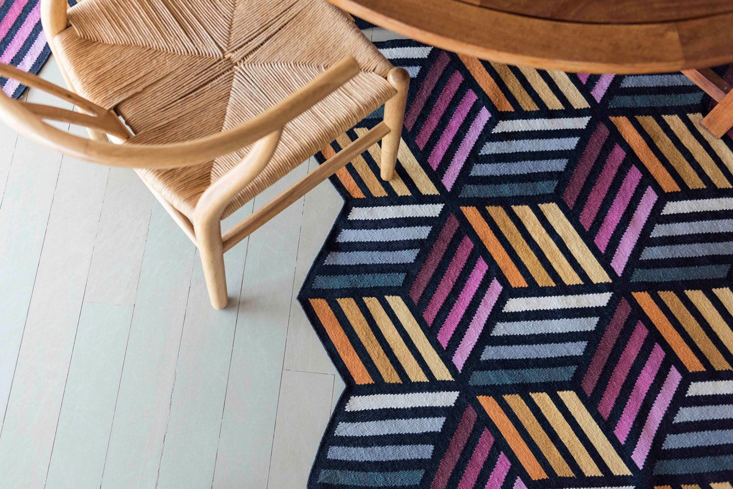 Rug Parquet by Front Design for Gan at IMM Cologne 2018 | Yellowtrace