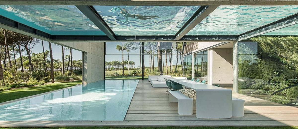 The Wall House On Portuguese Riviera By Guedes Cruz Arquitectos
