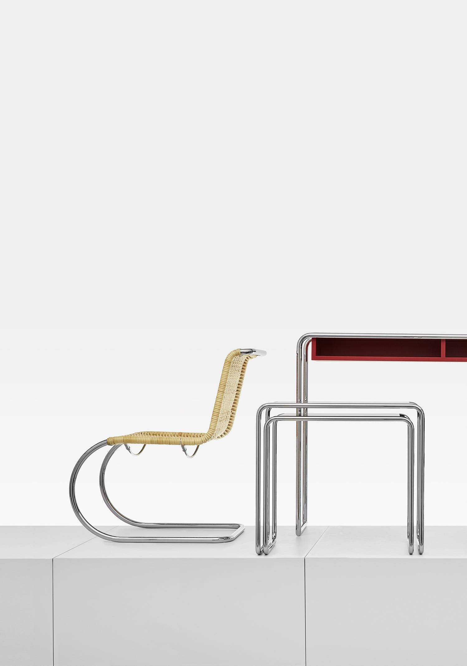 Tubular Steel Classics Ensemble by Thonet at IMM Cologne 2018 | Yellowtrace