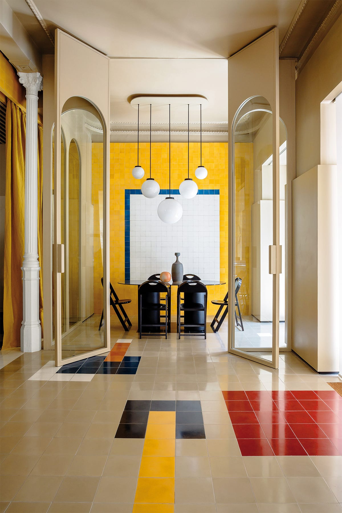 Casa josephine 39 s fitout for madrid advertising agency is fresh af - Casa josephine ...