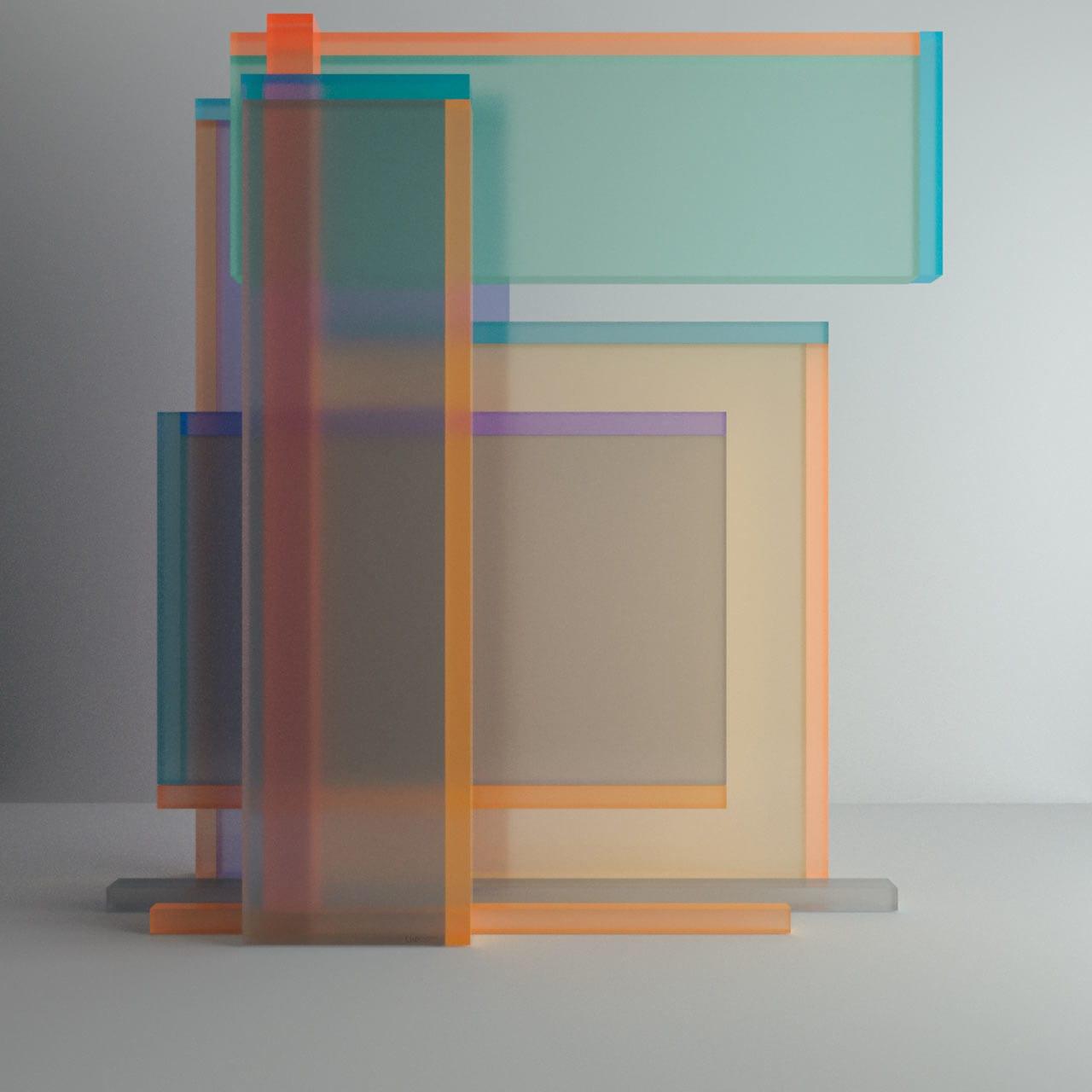 Chromatic Numerical Digital Sculptures by Leonardoworx | Yellowtrace