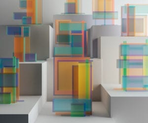 Chromatic Numerical Digital Sculptures by Leonardoworx | Yellowtrace