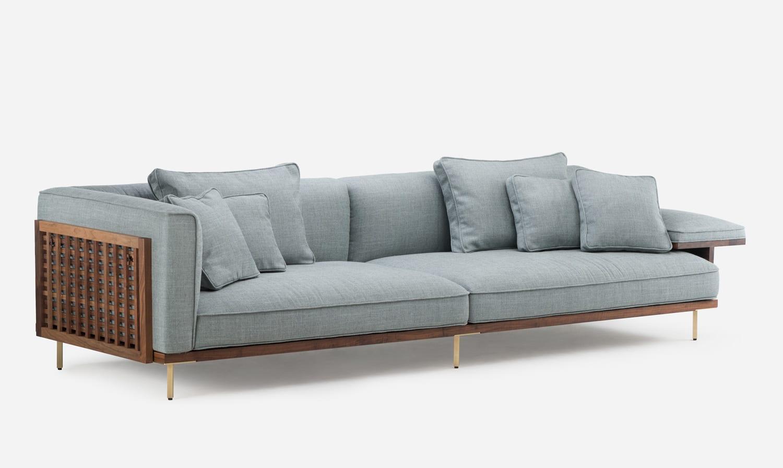 De La Espade Belle Reeve Sofa by Luca Nichetto at Stockholm Furniture Fair 2018 | Yellowtrace