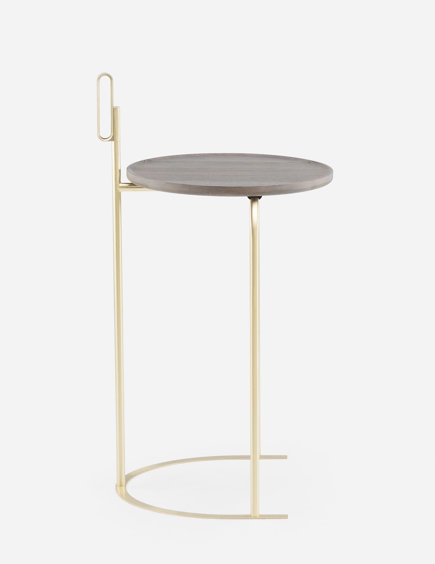 De La Espade Handle Side Table by Neri&Hu at Stockholm Furniture Fair 2018   Yellowtrace
