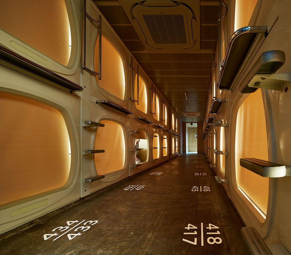 Do-C Ebisu Tokyo Capsule Hotel Renovation by Schemata Architects | Yellowtrace