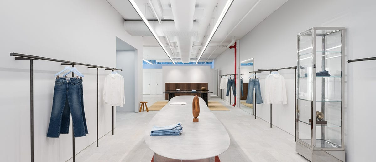 FRAME Store in NYC by Christian Hallerod | Yellowtrace