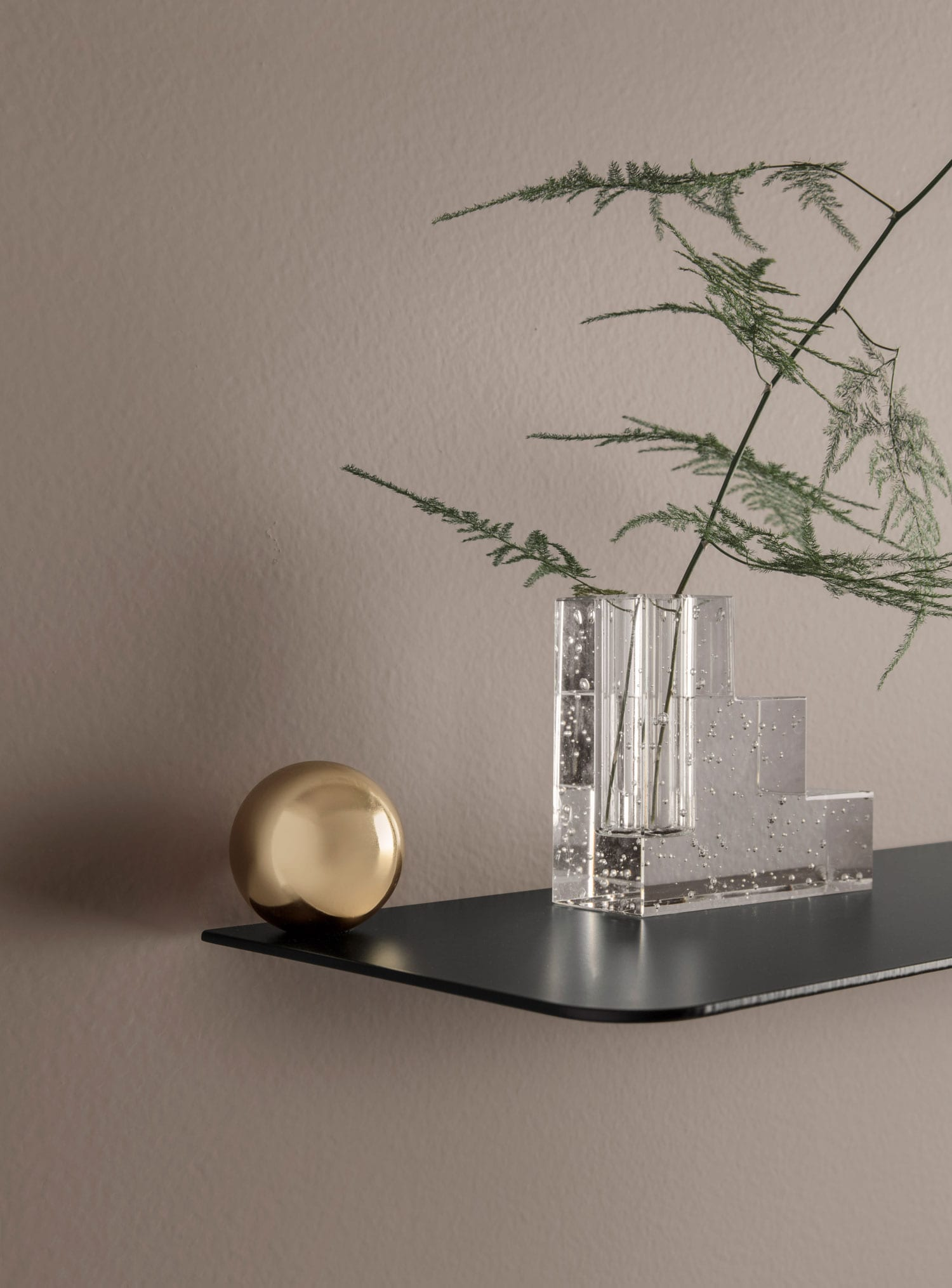 Ferm Living Flying Shelves at Stockholm Furniture Fair 2018 | Yellowtrace