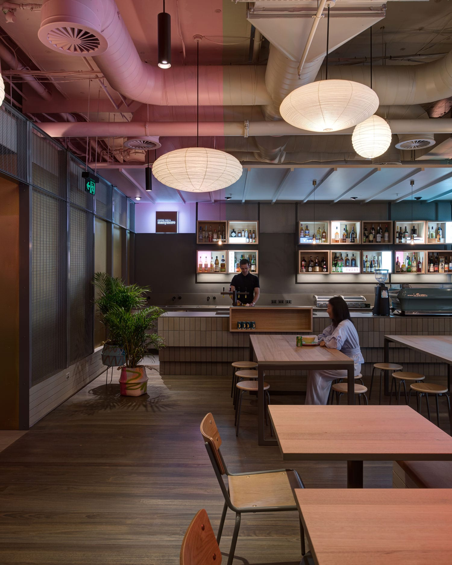 hwkr food centre in melbourne by craig tan architects yellowtrace